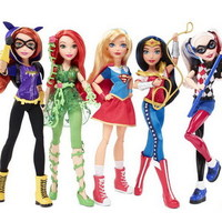 Mattel Arrivano Le Dc Super Hero Girls Incartweb Net